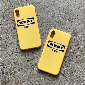 Accessories - 🍋 Japanese letter Ikea inspired cute phone case
